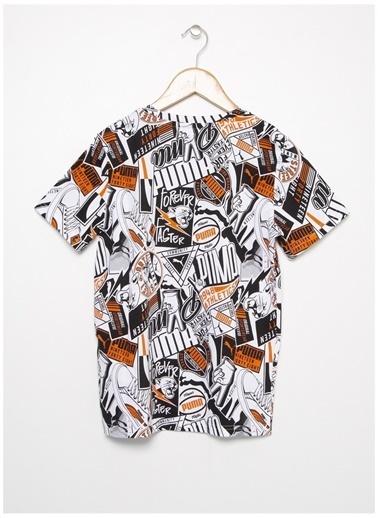 Puma Puma 58126902 Alpha Tee Beyaz Erkek Çocuk T-Shirt Beyaz